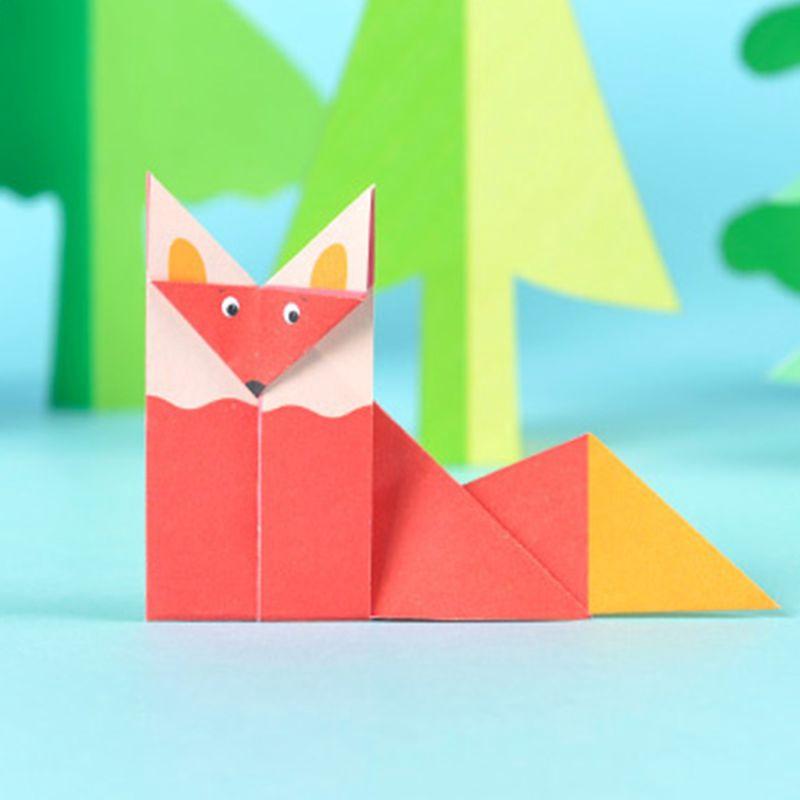 How to fold a Fox – Wie man einen Fuchs faltet | Origami renard ... | 800x800