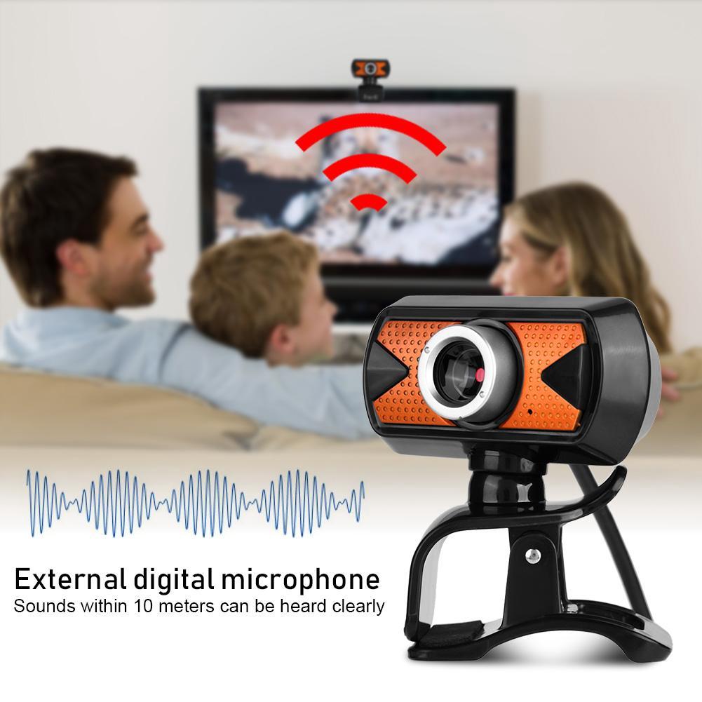 Rotation USB2 0 Webcam 16M Pixel HD Web Camera