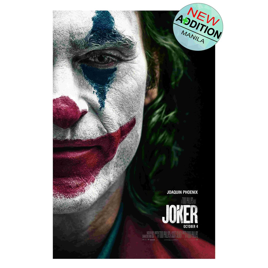 JOKER 2019 MOVIE POSTER COLLECTIBLE (LARGE SIZE 33cm X
