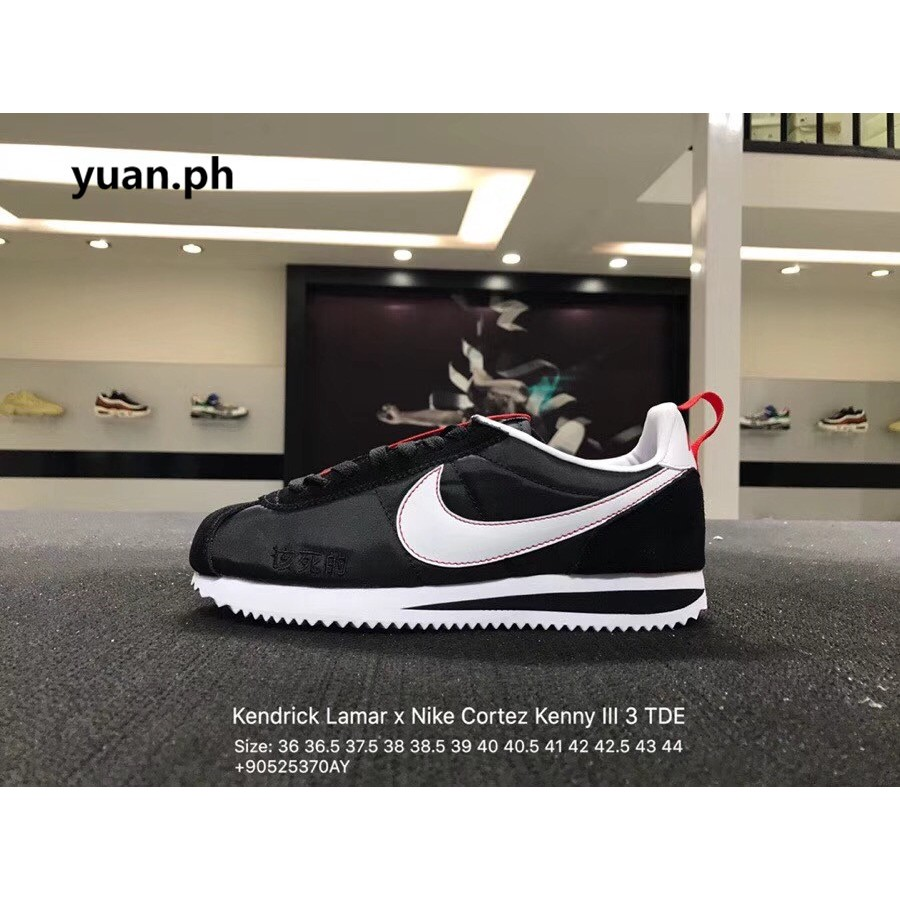 lowest price ca639 749a9 Kendrick Lamar x Nike Cortez Kenny 1 Men shoes Sneakers s03