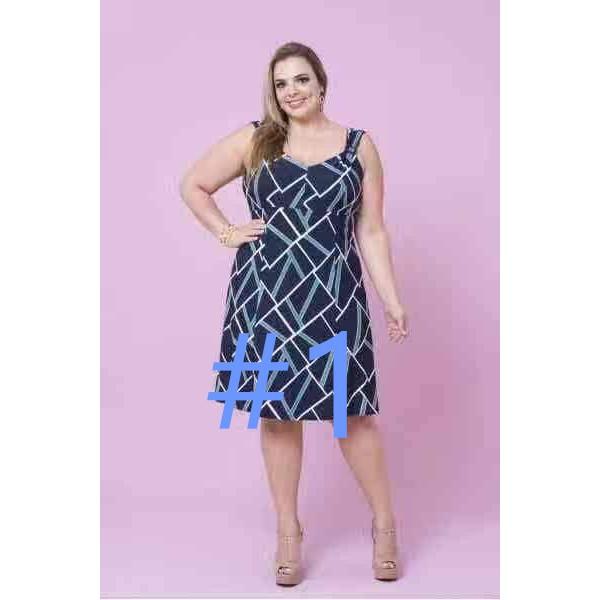 fashion women plus size dress @