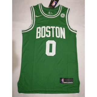 hot sale online 4669f dabf0 Jayson Tatum #0 Boston Celtics Nike Green Swingman Jersey ...