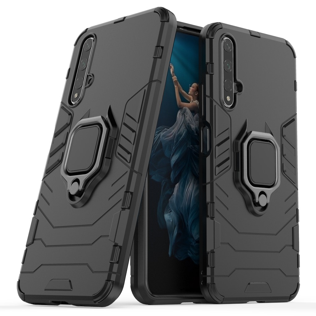 rivenditore all'ingrosso 3c2a4 6e9bd Huawei nova 5T Case Cover Shockproof Kickstand Hard Phone Case Huawei nova  5T nova5T Casing
