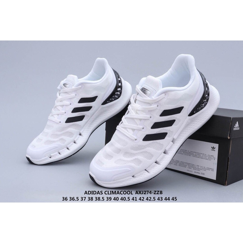 maldición servir Rectángulo  Original Adidas Climacool Casual white running shoes for men and women |  Shopee Philippines