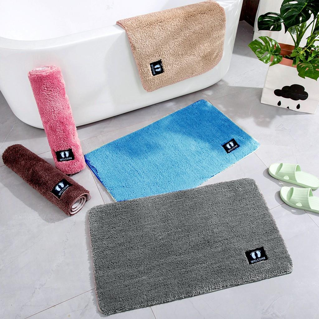 Jazz Classy Absorbent Doormat Bath Mat Thick Anti Slip Kitchen Bathroom Floor Rug Doorway Pad Home Shopee Philippines
