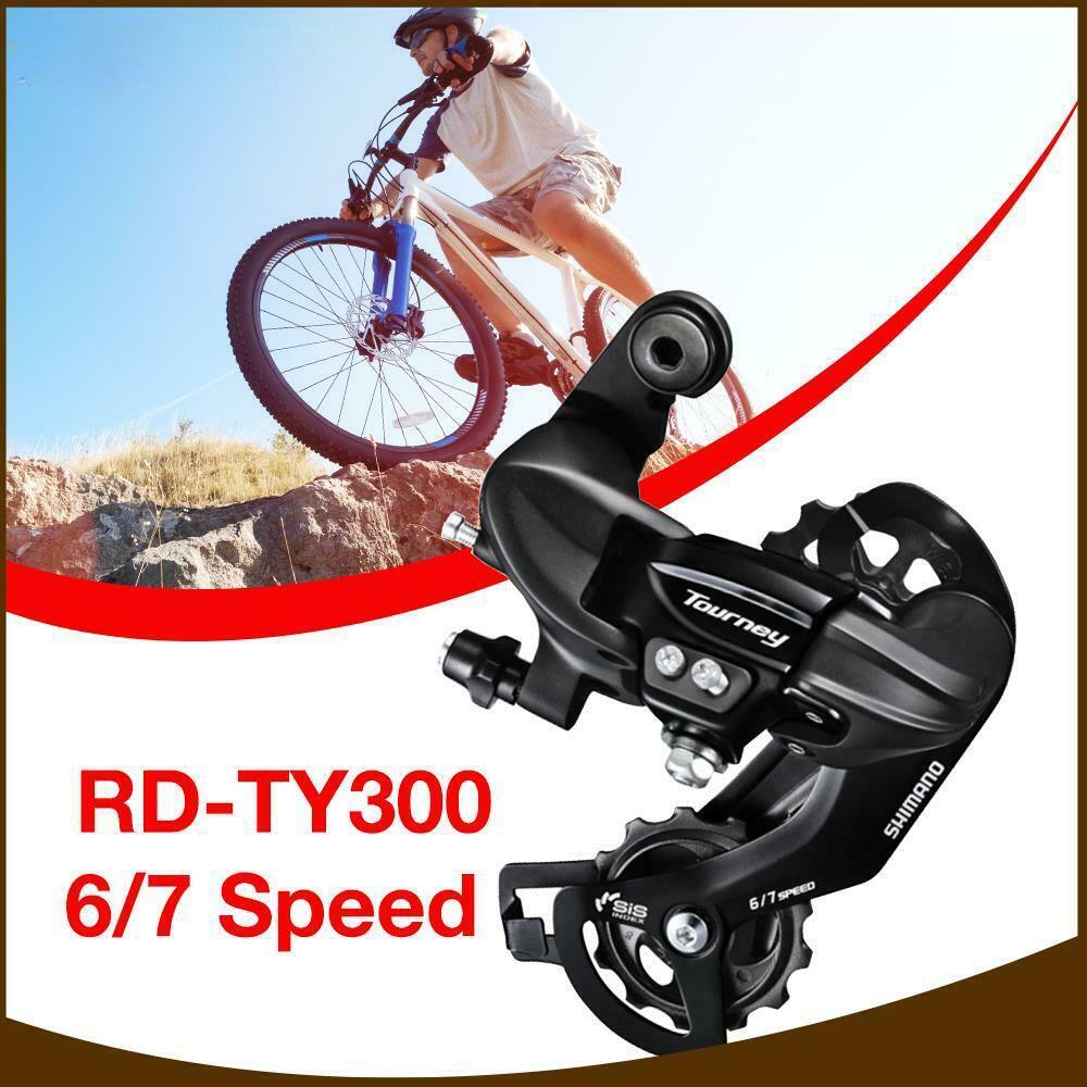 Speed Direct Mount MTB Rear Mech Derailleur 1Pcs Tourney RD TX35 6//7//8