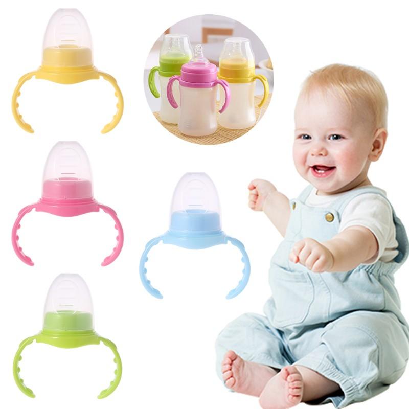 Baby Feeding Bottle Handle With Screw Cap Standard Dustproof Supply Accessories