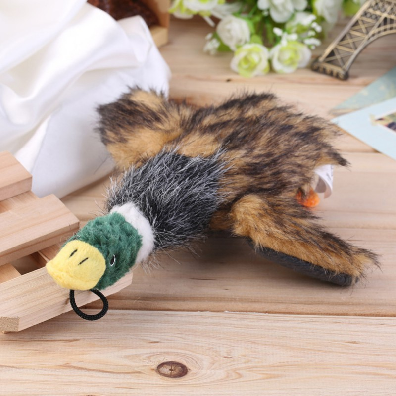 Duck Pet Dog Toys Puppy Sound Squeaker Training Chewing Toys