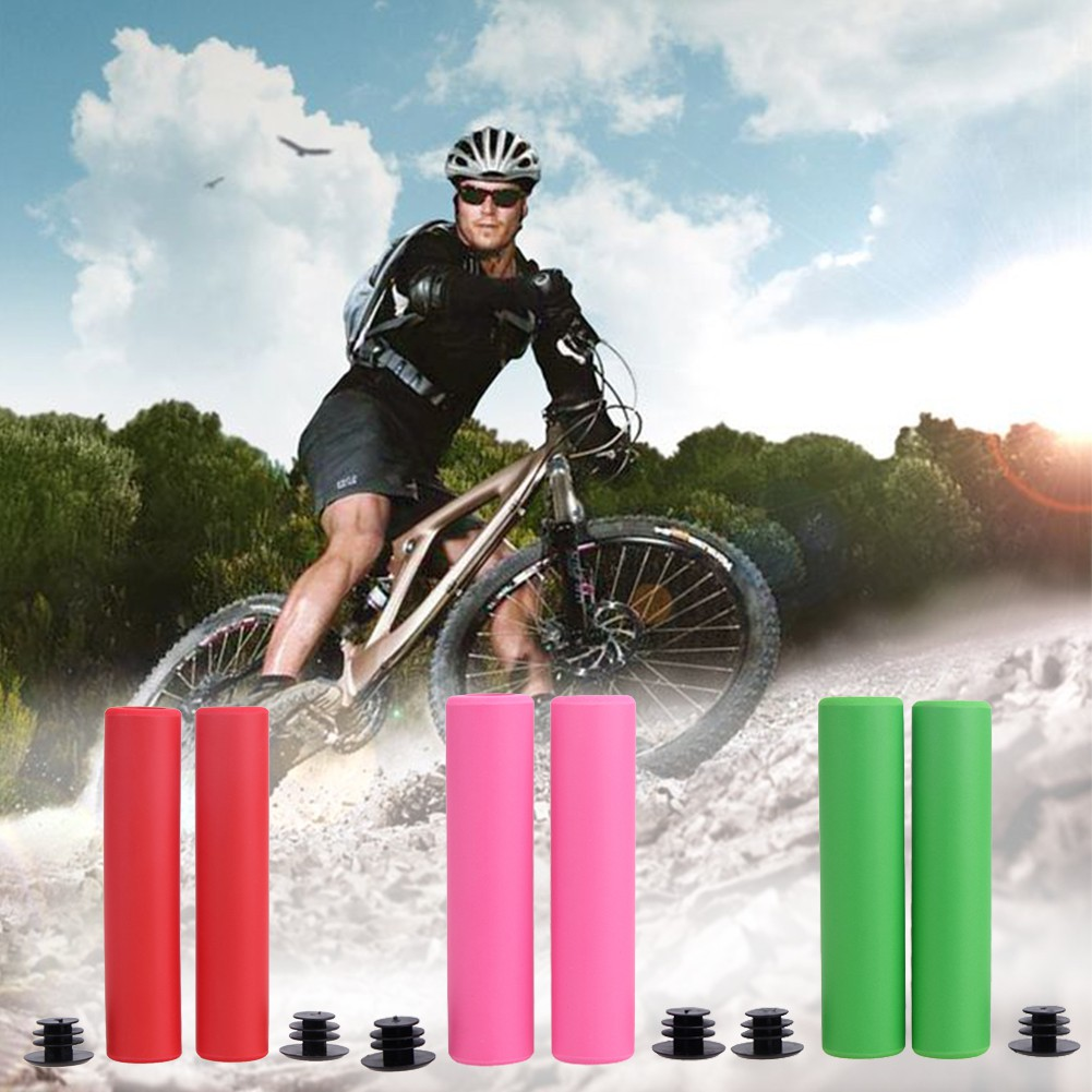 Bicycle Grip Ultra-light Shock-absorbing Silicone Sleeve Sponge Handlebar Cover