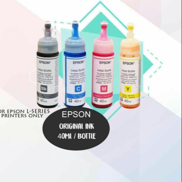 EPSON ORIGINAL L120 INK 40ml 1 SET