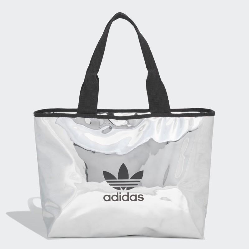 máscara pala equilibrio  Tas Tote Bag adidas (Adidas Originals Shopper) - Silver Metallic | Shopee  Philippines