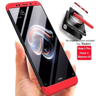 huge selection of 3282a c4f94 Xiaomi Redmi Note 5 Pro Ultra-thin Hard PC Shockproof Case | Shopee ...