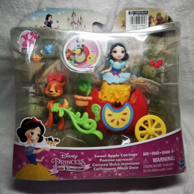 Disney Princess Little Kingdom Snow White Sweet Apple Carriage Playset Toy
