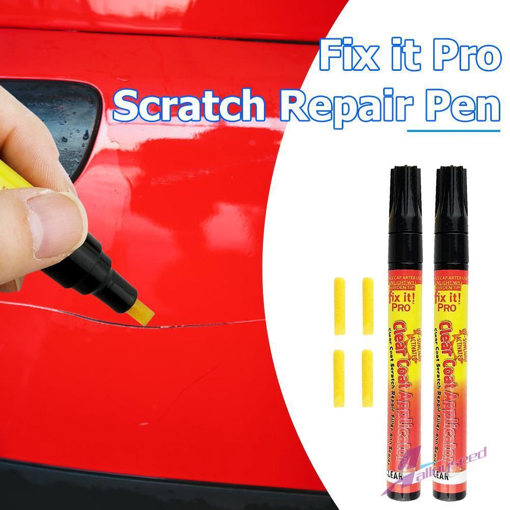2Pcs Magic Fix It Pro Clear Car Body Scratch Repair Remover Paint Pen Applicator