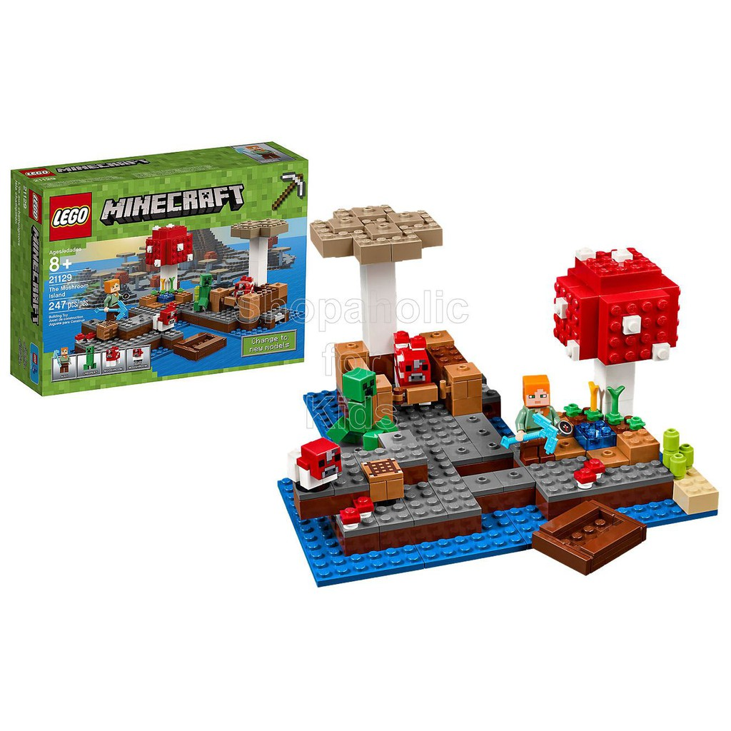 Minecraft Lego Price And Deals Shopee Philippines 21133 The Witch Hut