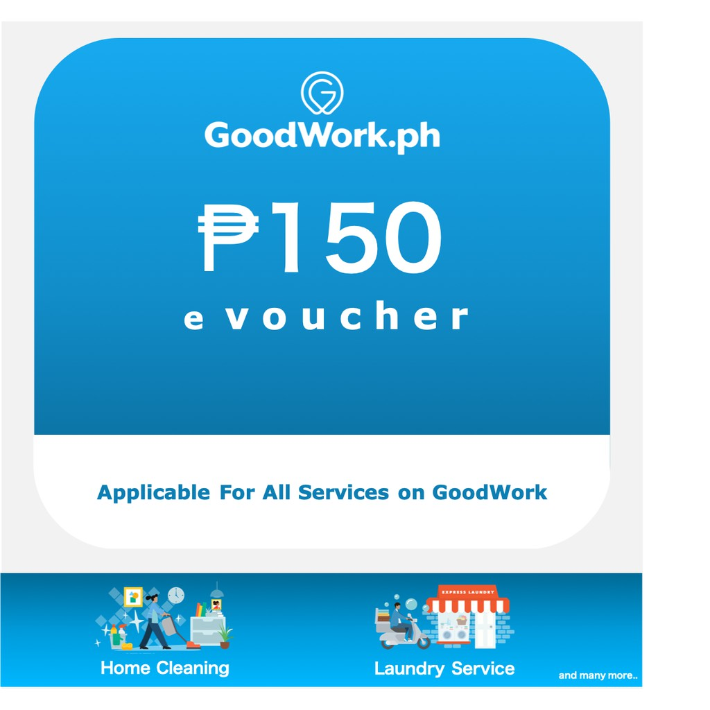 GoodWork Promo Code PHP 150 OFF