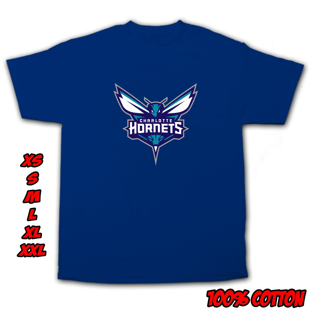 Nba Team Charlotte Hornets Logo Shirt Nba9 Shopee Philippines