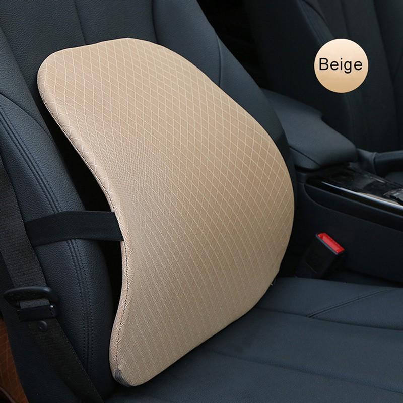 Car Rebound Seat Chair Waist Lumbar Back Support Cushion Breathability K