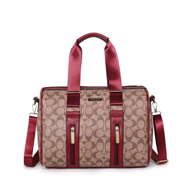501 Coach women's handbag shoulder Ladies sling Bags ...