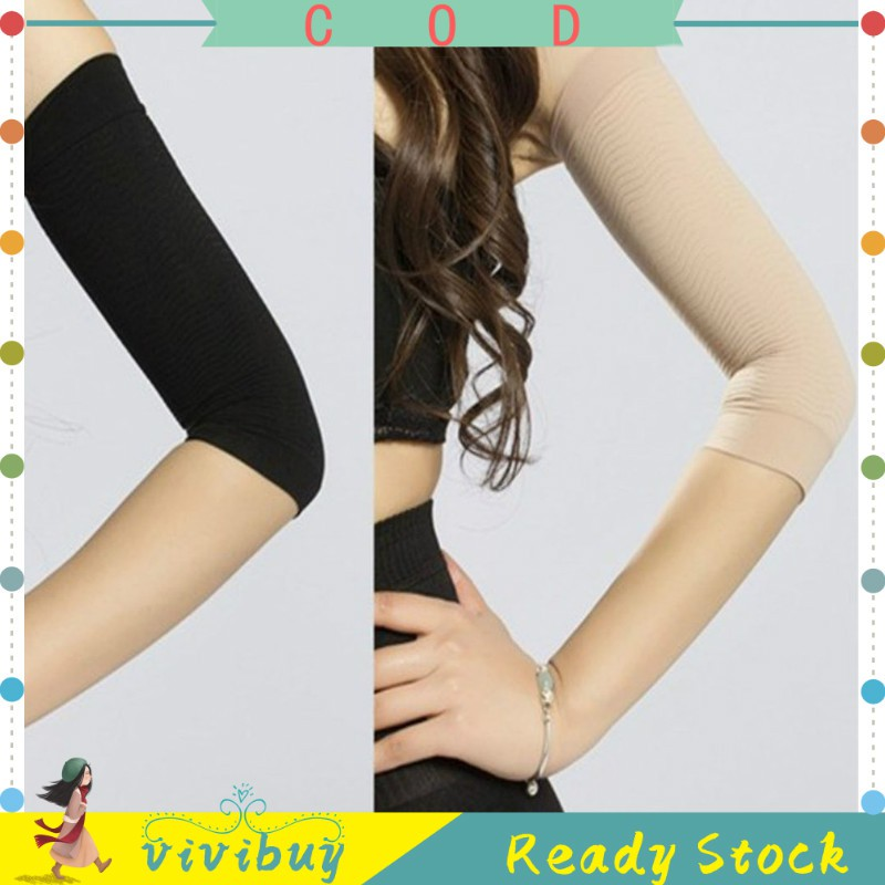 420d Compression Slimming Arms Sleeves Workout Toning Burn Cellulite Shaper Compression Arm Sleeves Shopee Philippines