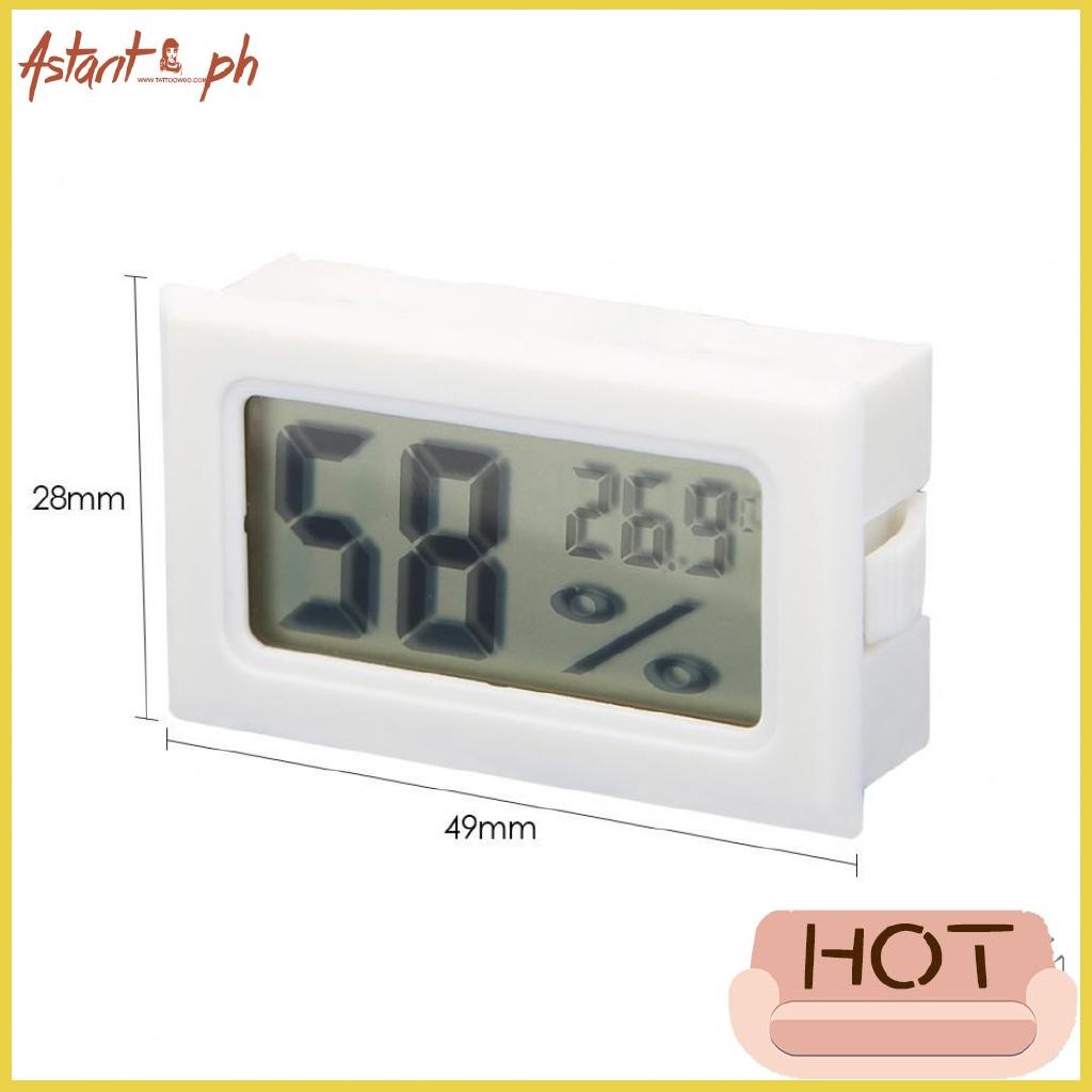 Mini Digital LCD Temperature Humidity Meter Thermometer Hygrometer Indoor Sensor
