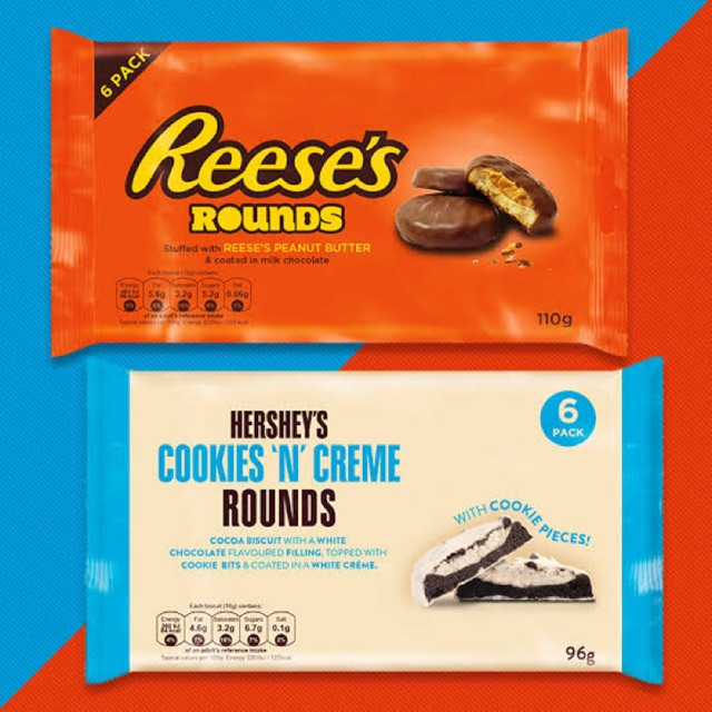 Hershey's Cookies N Creme Rounds / Reese's Rounds Chocolate | Shopee  Philippines