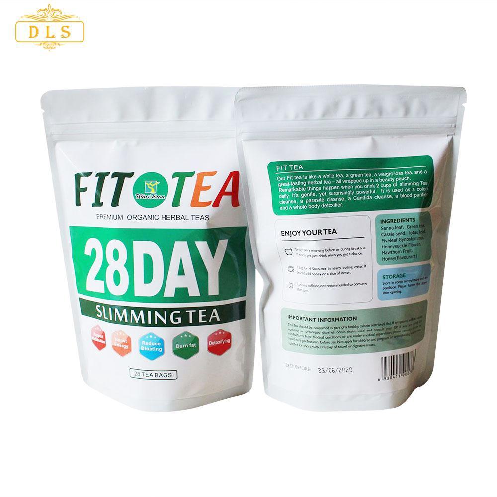 Del Weight Loss Tea Slimming Tea Natural Herbal 28pcs Set Unisex