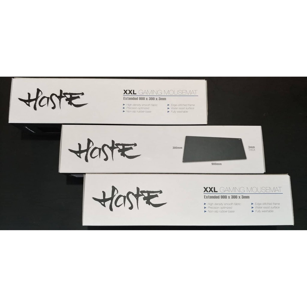 Tecware Haste Gaming XXL Mouse Mat (Non-RGB)