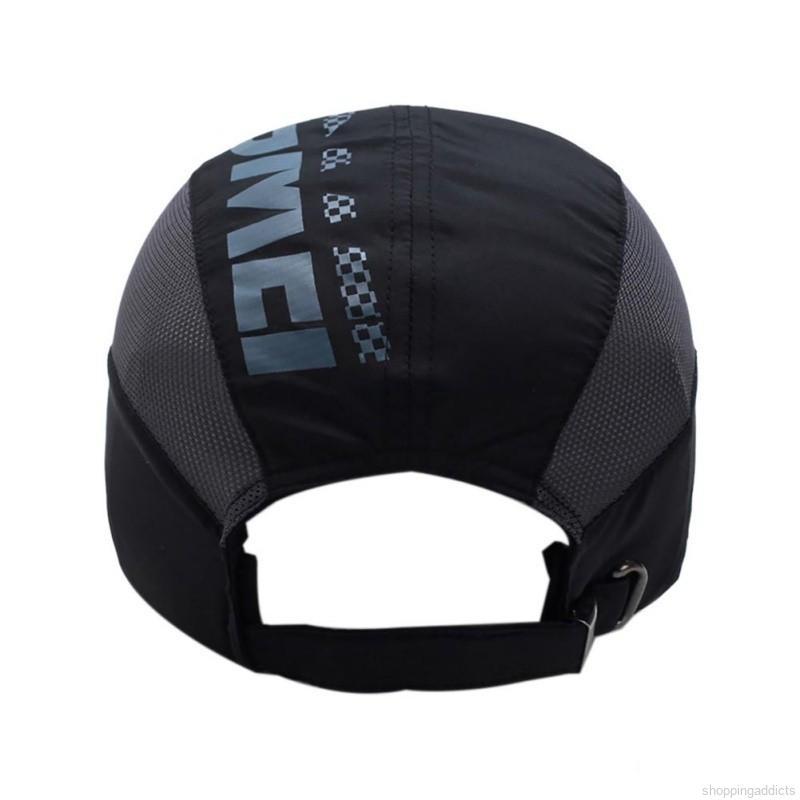Sailboat Set Off Under Full Moon Lightweight Unisex Baseball Caps Adjustable Breathable Sun Hat for Sport Outdoor Black