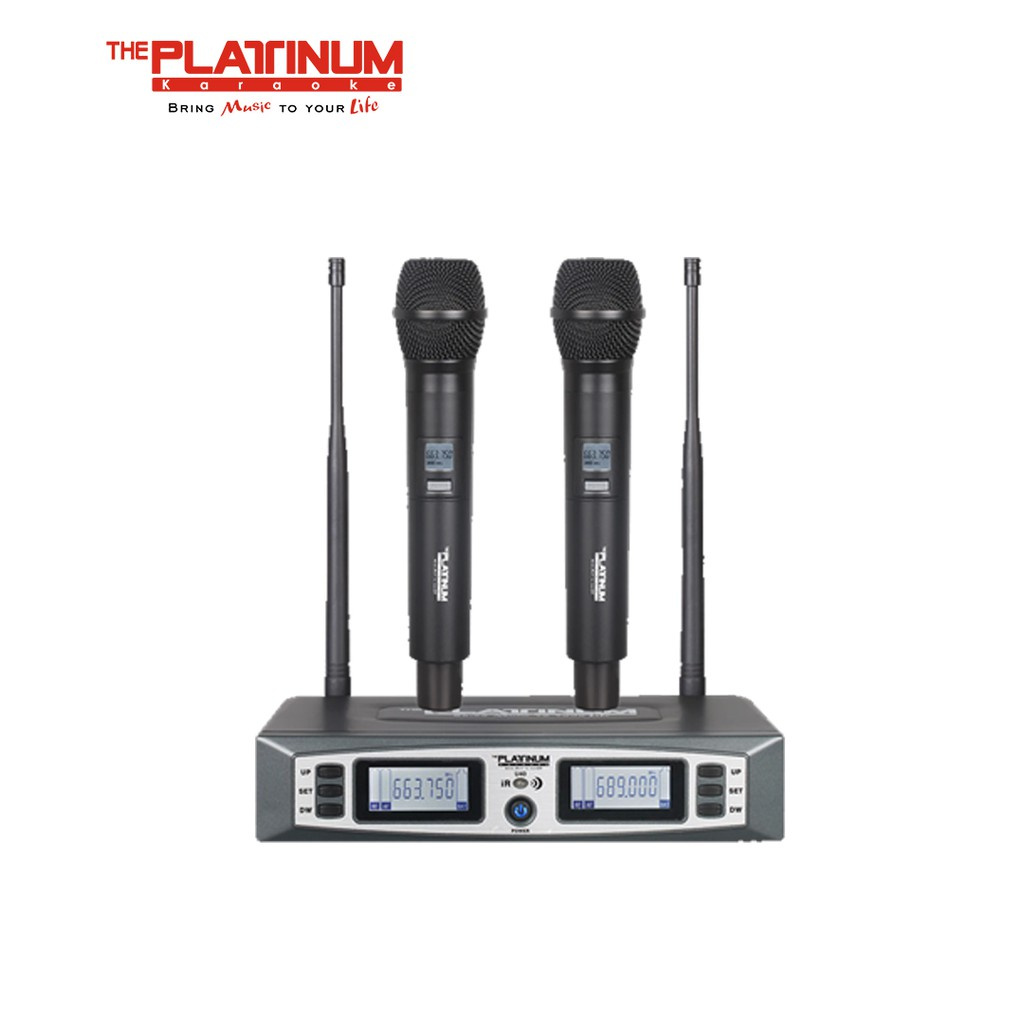 The Platinum U40 PTW 600U Wireless Microphone | Shopee Philippines