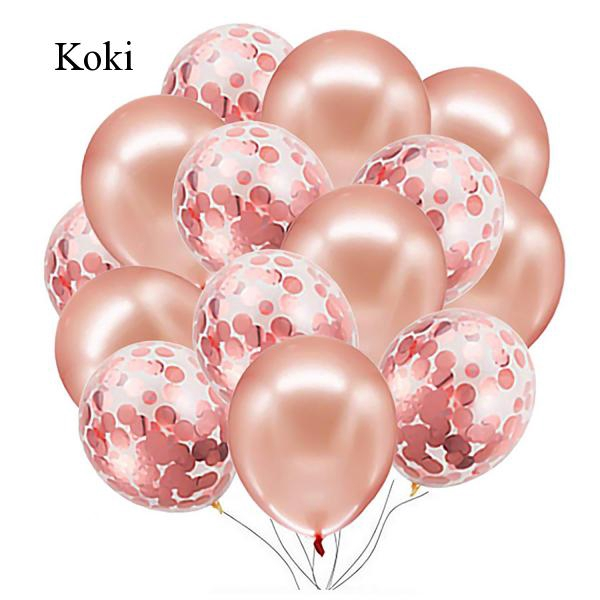 Koki 16th Birthday Rose Gold Balloons Banner Decorations Accessories Kit Set For Happy Birthday Party Decor Photo Props Supplies Shopee Philippines