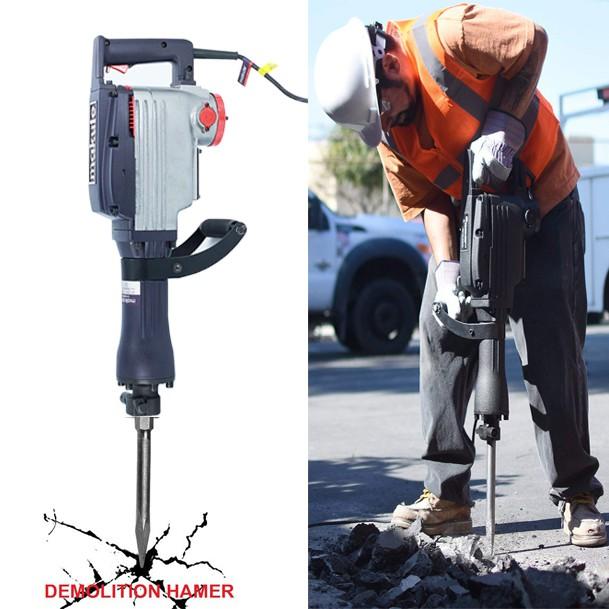High Quality 2200watt Heavy Duty Electric Demolition Jack Hammer Concrete Breaker W Case Shopee Philippines