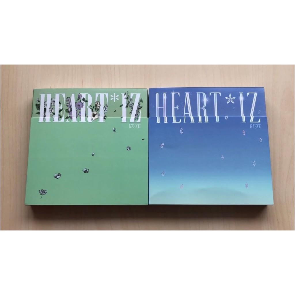 [ONHAND/OFFICIAL] IZONE HEART IZ 2nd MINI ALBUM