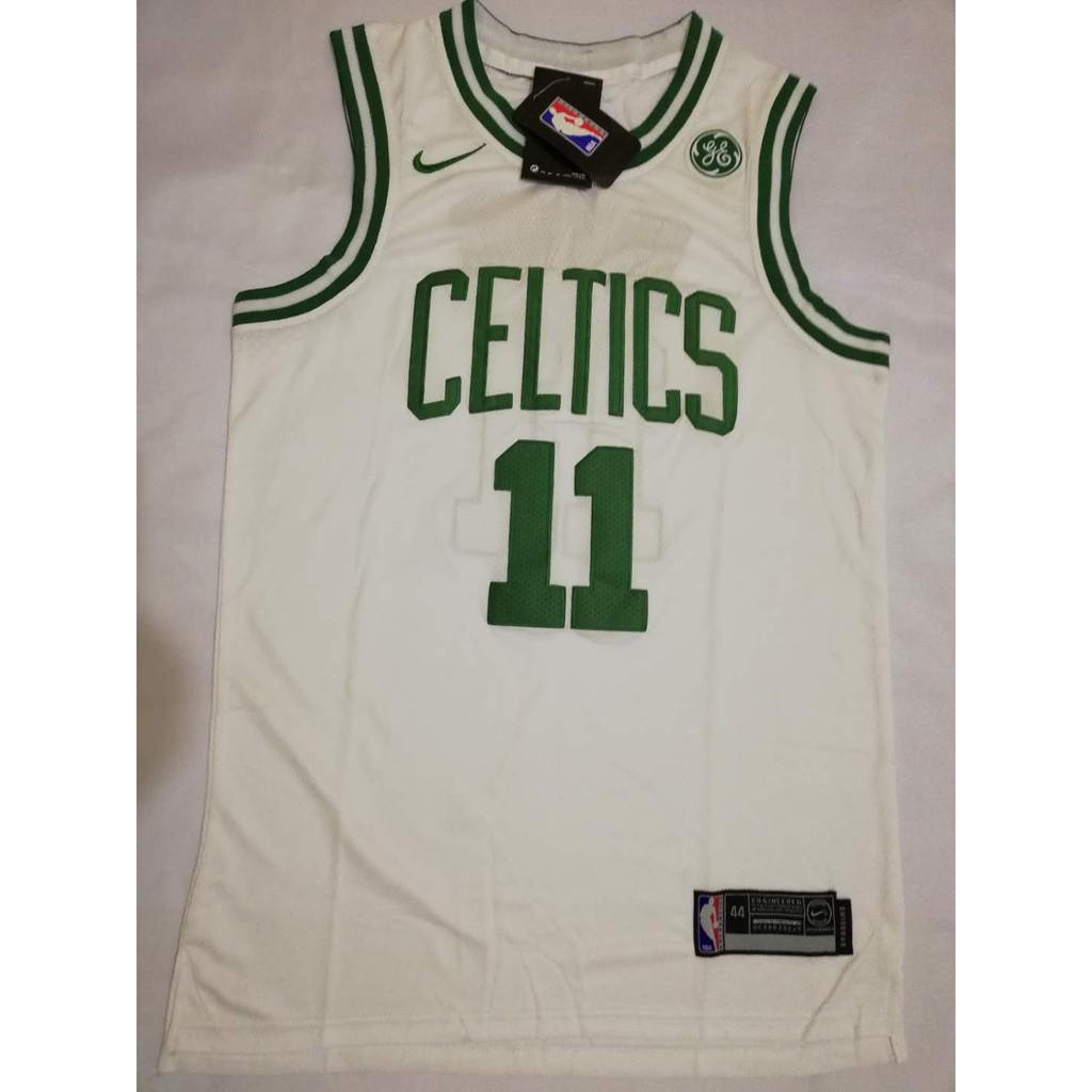watch 5b249 90964 Boston Celtics Kyrie Irving #11 White Swingman Jersey