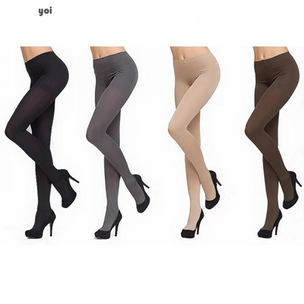 8385c213c81a5 Yo Women Winter Warm Thick Pantyhose Socks Tights Stockings | Shopee  Philippines