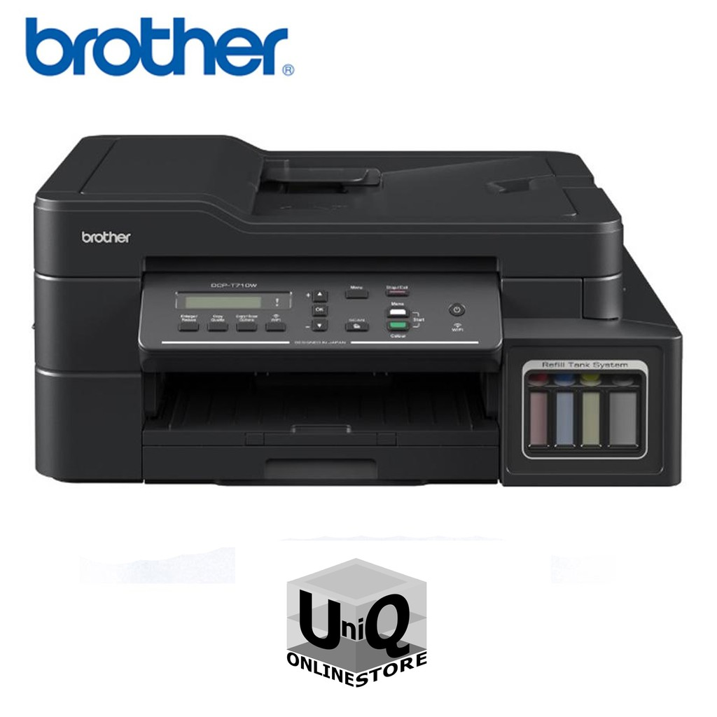 Brother DCP-T710W All-in-One Refill Tank Colored Printer