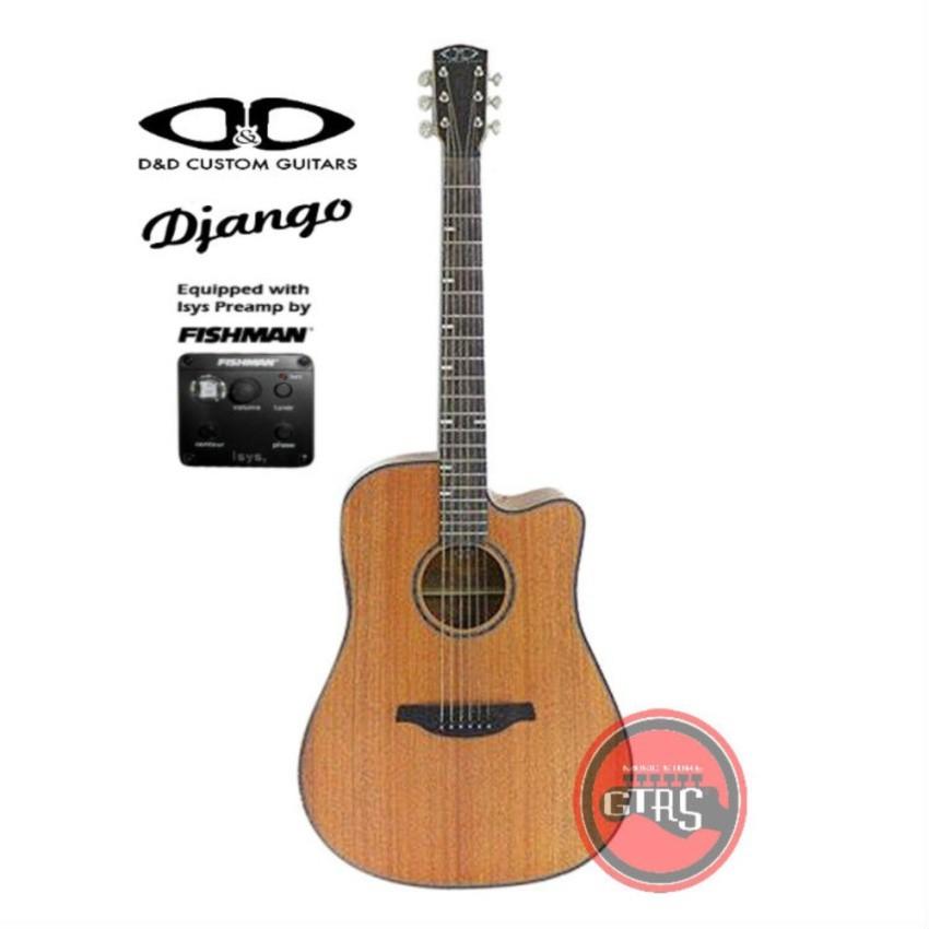 Dnd Django Acoustic Guitar With Pickup Mahogany Shopee Philippines