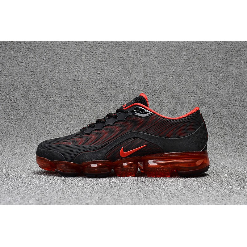 sports shoes 6b648 9a2b4 New Color NIKE AIR VAPORMAX PLUS Womens Shoes Breathable Sports Black Orange