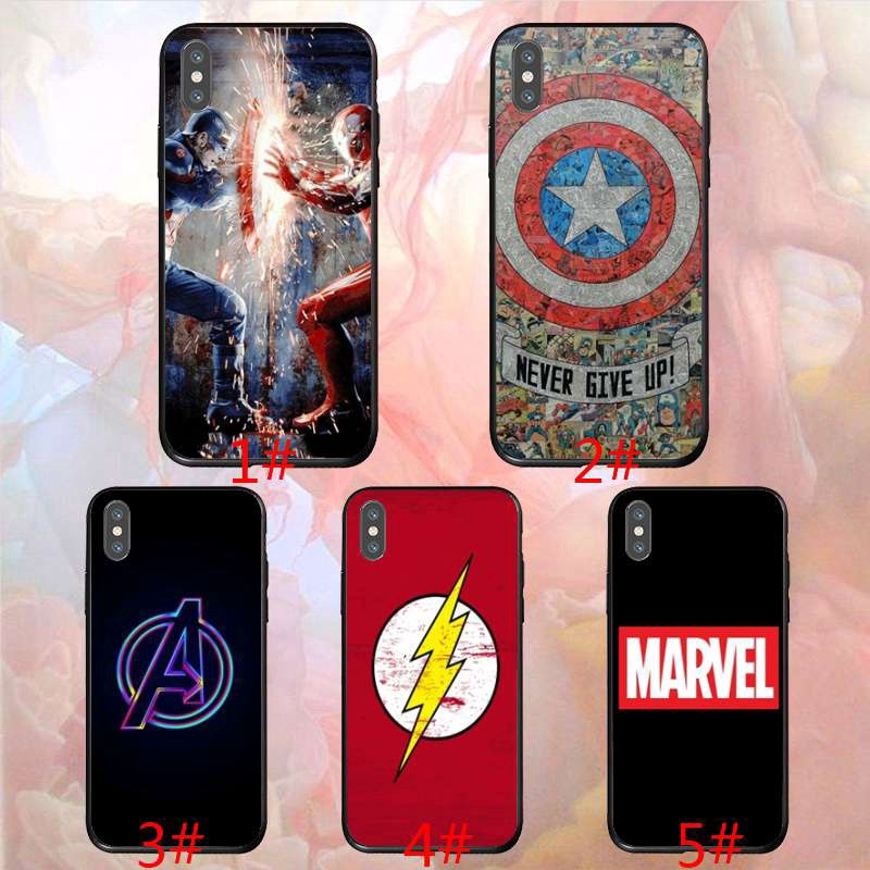 Marvel Avengers oppo A3s R11s A7 R172 A5 F3 Soft Cover