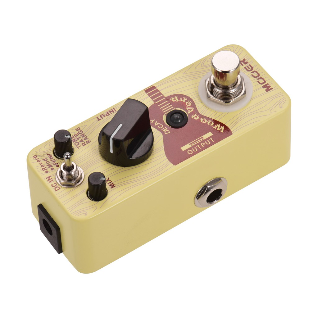 Mooer Woodverb Acoustic Guitar Reverb Micro Guitar Effects Pedal