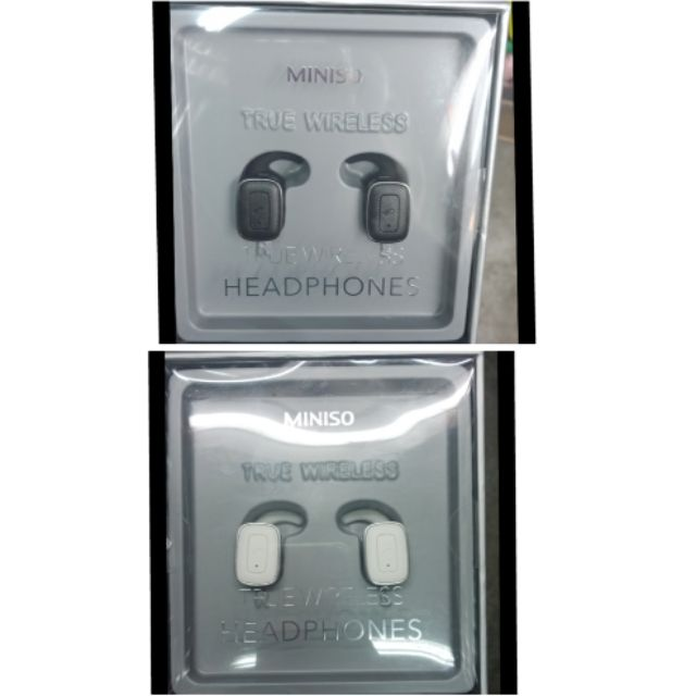 5610e7fb0d4 Authentic Miniso True Wireless Headphones COD | Shopee Philippines