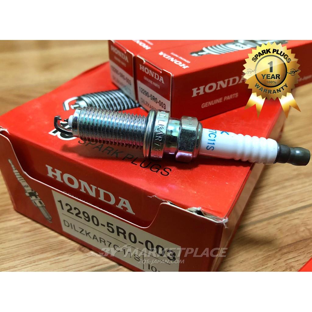 4x NGK DILZKAR7C11S 90137 Laser Iridium Spark Plugs for 2015-2018 Honda Fit 1.5L