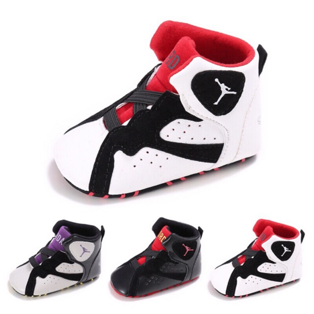 huge selection of 65c27 1dbd4 Baby Corp Boy Basketball Basketball Theme Sports Newborn Walking Sneakers  Shoes