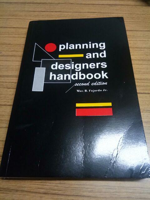 Planning and Designers Handbook by Fajardo   Shopee Philippines
