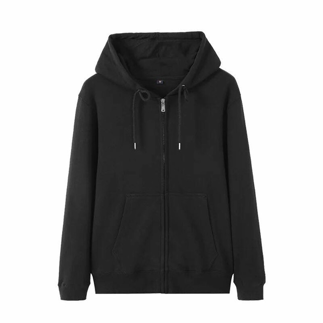 c275bd747 #8006 Plain Hoodie Jacket with zipper   Shopee Philippines