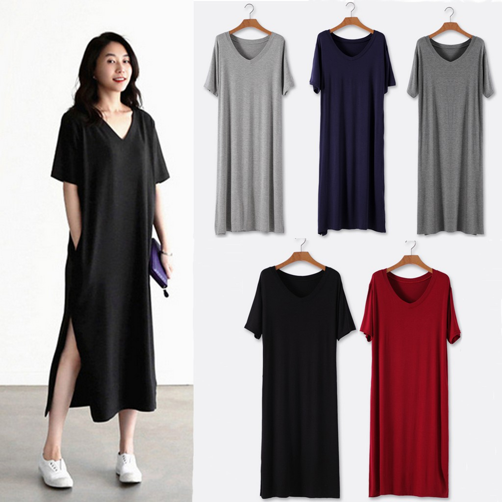 Womens Cotton Linen Sleeveless Shirt Dress Ladies Casual Loose Split Long Dress
