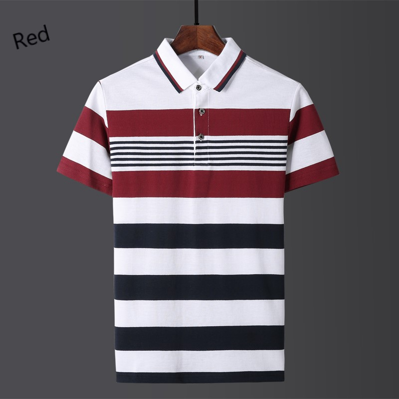 You Know And Good Japanese Symbol Strength Mens Regular-Fit Cotton Polo Shirt Short Sleeve