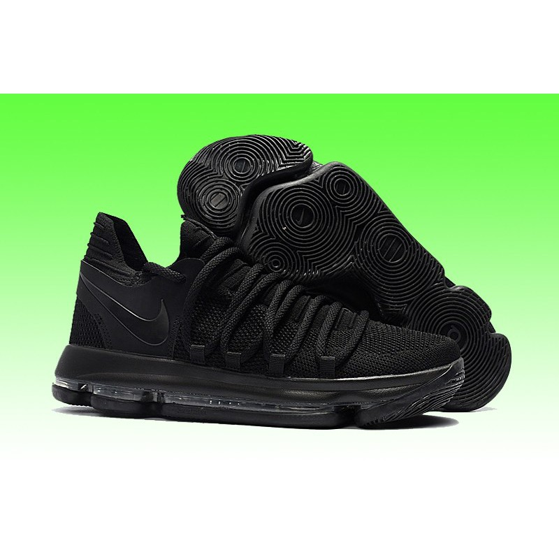 2e8061cbbd72 Nike KD 10 Outlet Triple Dark Blue OEM Premium Quality