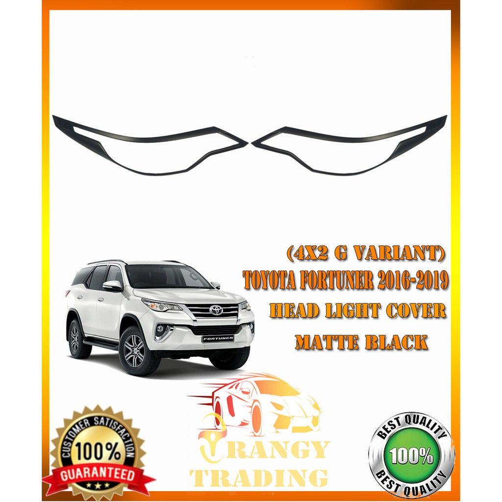 Toyota Fortuner 2016-2019 4X2 G VARIANT Combo set cover