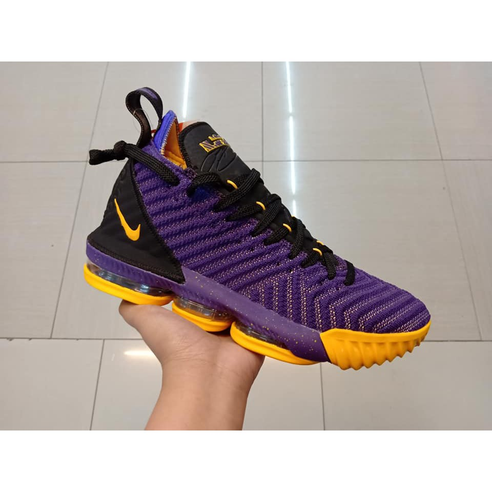 low priced 03955 6d443 LEBRON 16 LAKERS COLOR